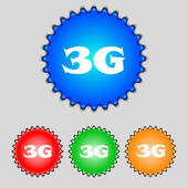 3G sign icon — Stock Vector