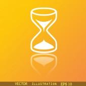 Hourglass  icon symbol — Stock Vector