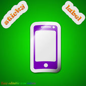Mobile devices icon sign — Stockvector