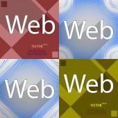 Web icon symbol Flat modern design. Vector — Stock Vector