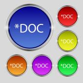 File document icon. — Stock Vector