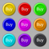 Buy sign icon. — Stock Vector