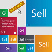 Sell sign icon. — Stock Vector