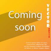 Coming soon icon symbol. — Stock Vector