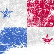 Flag of Panama with old texture. Vector — Stock Vector #64020421