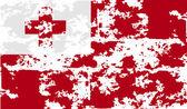 Flaga Tonga z stary tekstura. Wektor — Wektor stockowy
