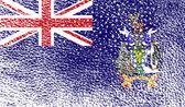 Bandeira da Geórgia e Ilhas Sandwich — Vetor de Stock