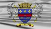 Flag of Saint Barthelemy — Stock Vector