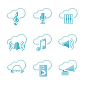 μουσική ορισμόςεικονιδίου — Διανυσματικό Αρχείο