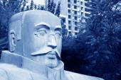 Statue of Mr Li dazhao, the founders of communist party of China — Stock Photo