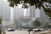 Wanda plaza street view, tangshan city, hebei province, China. — Stock Photo