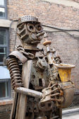 Mechanical parts made of character statues in the kailuan nation — Stockfoto