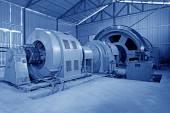 铁的矿石机械设备润滑站 — 图库照片
