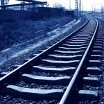 Rusty rails — Stock Photo #65223645