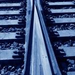 Rusty rails — Stock Photo #65224989