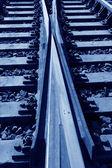 Rusty rails — Stock Photo