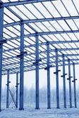 промышленного производства семинар стальная балка — Стоковое фото