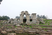 Stone carvings landscape architecture at the Old summer palace r — Stock Photo