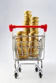 Shopping money — Stock Photo