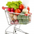 Healthy food shopping list — Stock Photo #54288889