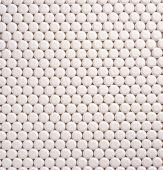 White pills — Stock Photo