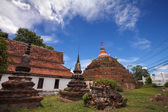 Temple in Thailand is named Wat Ratchaburana,Phitsanulok — Stock Photo