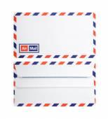 Air mail envelope — Stock Photo