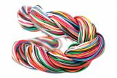 Bonifico elettronico muti-colore — Foto Stock