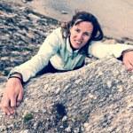 Female climber. — Stock Photo #58750601