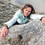 Female climber. — Stock Photo #58750745