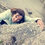 Female climber. — Stock Photo #58751003