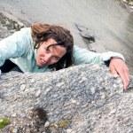 Female climber. — Stock Photo #58751095