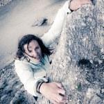 Female climber. — Stock Photo #58751291