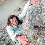 Female climber. — Stock Photo #58751373