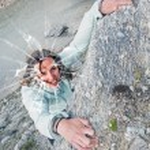 Female climber. — Stock Photo #58959627