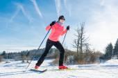 Cross country skier  — 图库照片