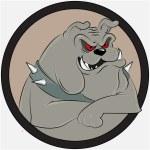Bulldog cartoon vector — Stock Vector #60011093