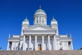ST.NICOLAS CATHEDRAL IN HELSINKI — Stock Photo