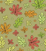 Texture leaf fall — Stockvector