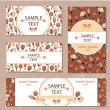 Set of banners — Stock Vector #58429991