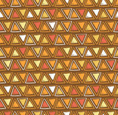 Tribal triangle seamless pattern — Stock Vector