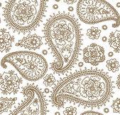 Traditional Asian elements Paisley pattern — Stock vektor