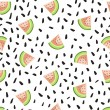 Seamless pattern with water-melons. — Stock Vector #79789578