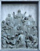 Bas-relief Christianization of Kievan Rus — Foto de Stock