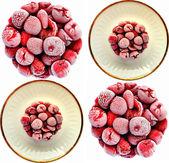 Cherry Cake pattern — Stock Photo