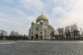 Naval Cathedral Kronstadt — Stock Photo