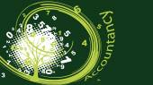 Green accountancy tree — Stock Vector
