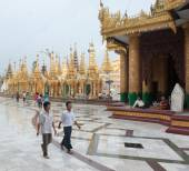 Pagoda Shwedagon di yangon, myanmar — Foto Stock