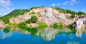 Mountain lake in Chau Doc town — Foto de Stock