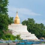 Bu-phaya, the pagoda close to the river in Bagan — Stock Photo #70105535